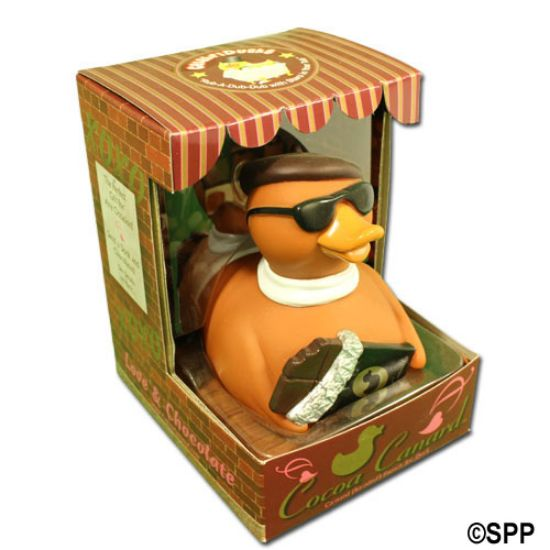 81071: Rubber Duck, Cocoa Canard Chocolate Duck