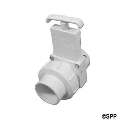 "0115-15: Slide Valve, Magic, 3-Piece, 1-1/2""S x Slip Union"
