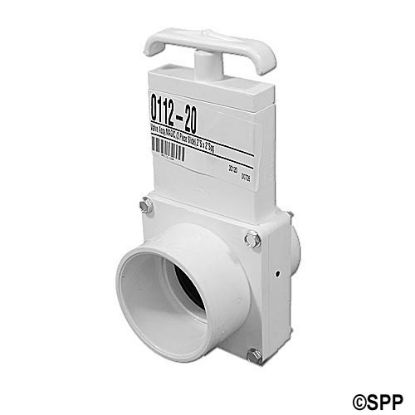 "0112-20: Slide Valve, Magic, 3-Piece, 2""S x 2""Spg"