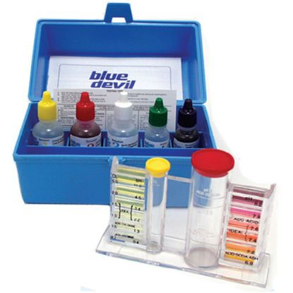 BD7448: Test Kit, Valterra, Liquid, 5-Way OTO, Bromine, Chlorine, Ph, ALK, Acid Demand