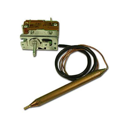 "75077: Thermostat, Eaton, Mechanical, 46"" Capillary x 3/8"" Bulb x 4.75"" Bulb Length, Hot Springs"