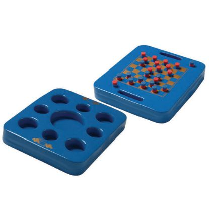 8810026: Tray, Texas Rec, KoolTray, Floating Game And Drink Tray, Blue