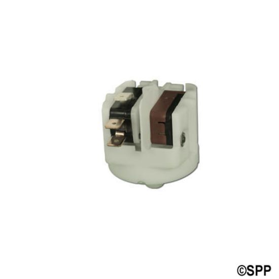 "VS12506E: Vacuum Switch, Presair, SPDT, 25 Amp, 1/8""NPT, Adjustable (6-16 WG)"