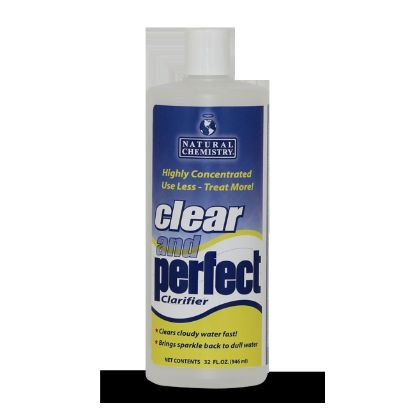 03500: Water Care, Natural Chemistry, Clear And Perfect, 32oz Bottle